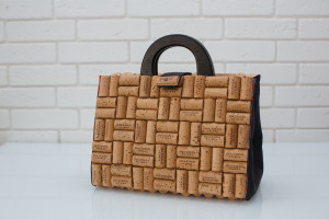 Men's eco bag - bag of cork.