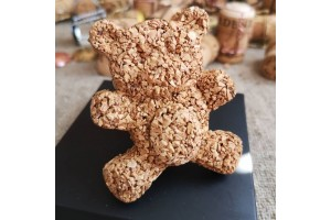 Wine cork bear